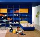 blue bedroom decor