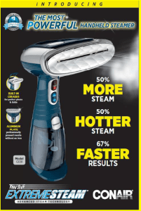 Product Review – Turbo Extreme Steam From Conair