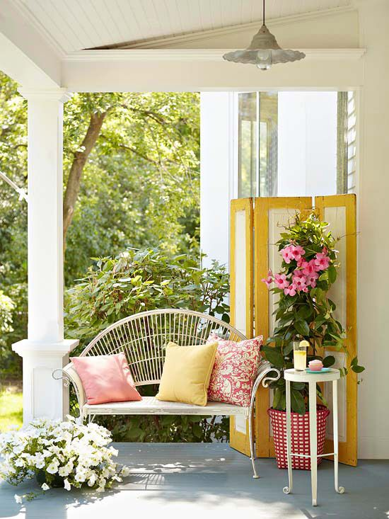 Home Design Ideas Front: Charming Front Porch Designs