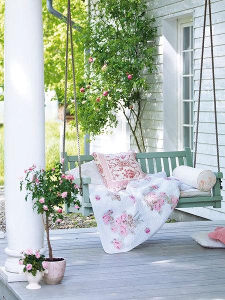 porch decor swing