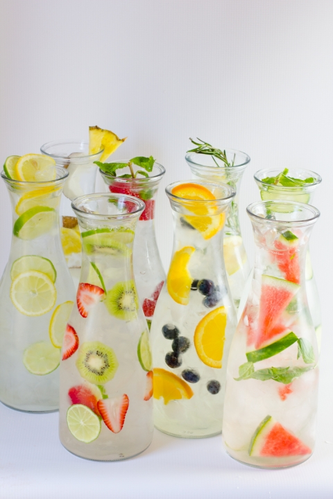 Infused Water Combos to Keep You Hydrated