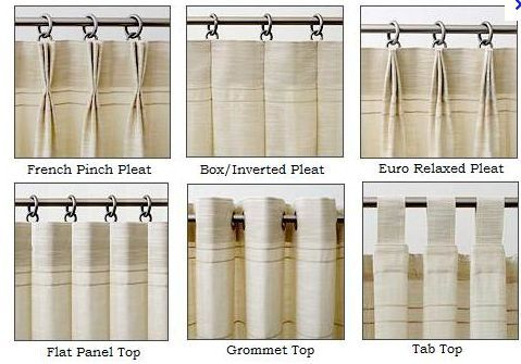 Curtain Pleats