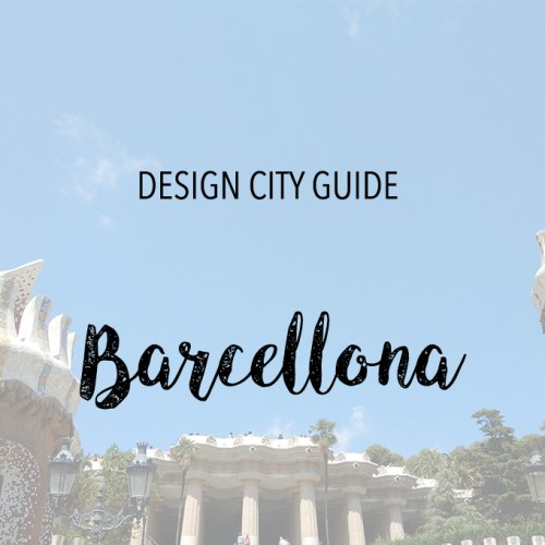 barcellona design city guide