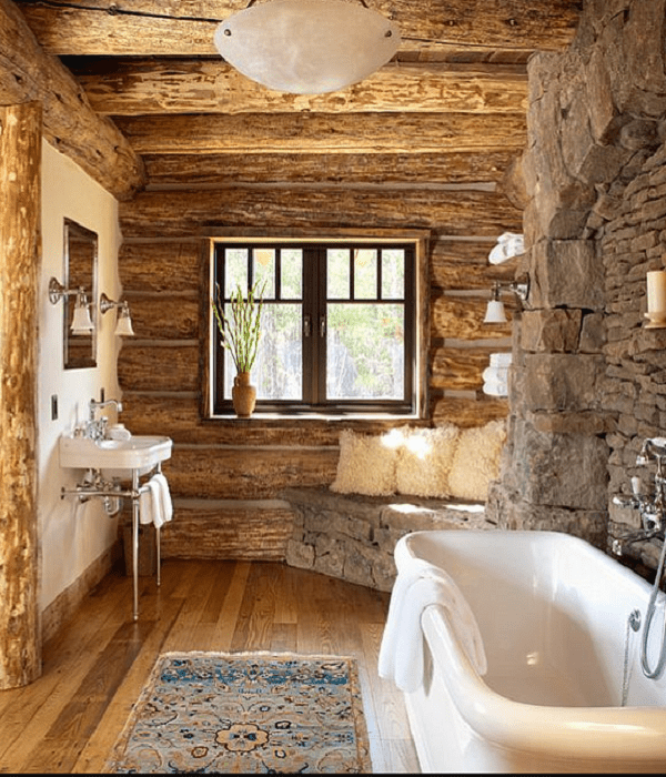 rustic bathroom sink ideas