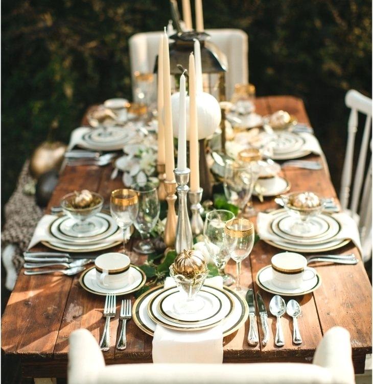 romantic table setting ideas