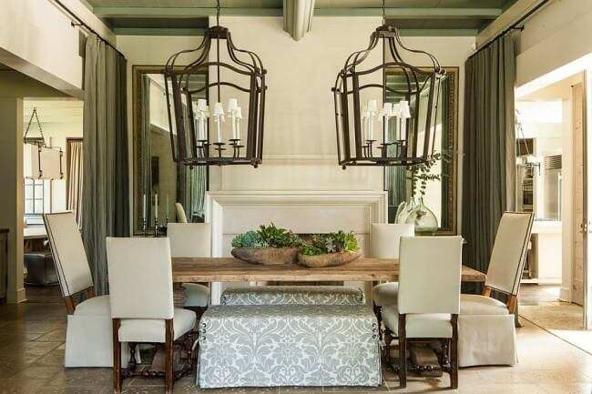 farmhouse dining room table set