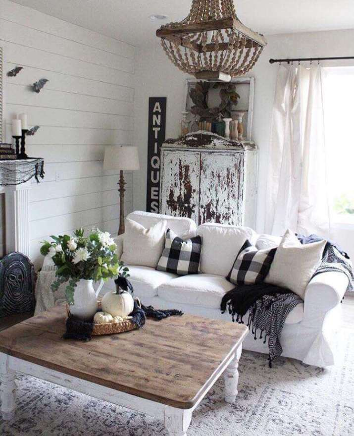 √ 18 Best Modern Rustic Living Room Ideas (On a Budget)