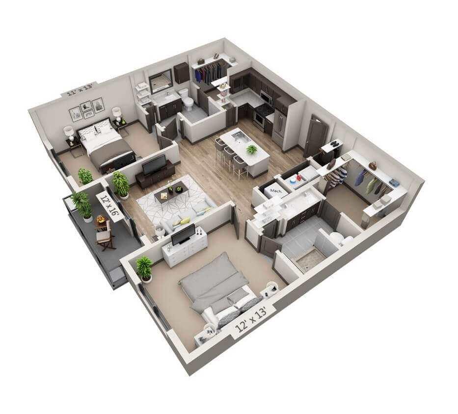 30x50 barndominium floor plans