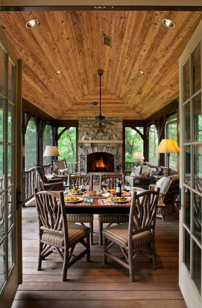 sunroom ceiling ideas
