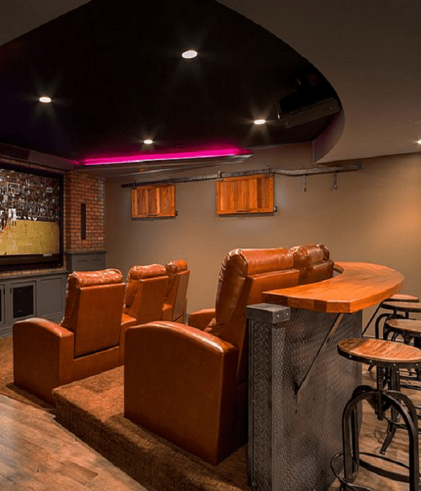 basement home theater ideas