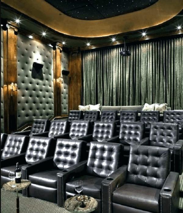 basement movie theater