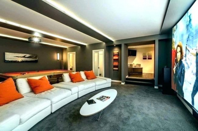 media room ceiling ideas