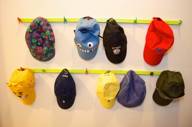 hat rack ideas pinterest