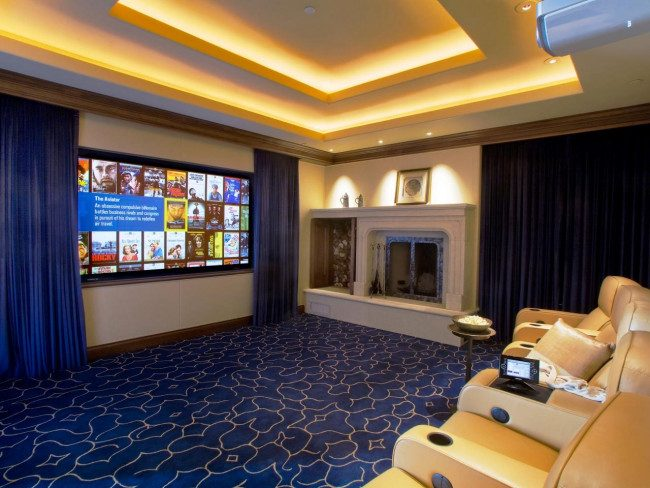media room ideas for small spaces