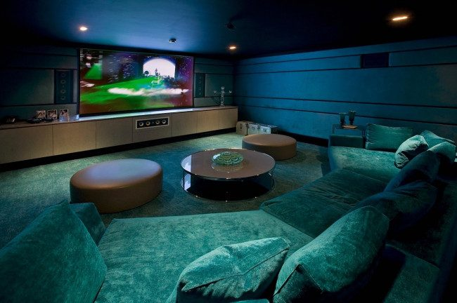 media room ideas houzz