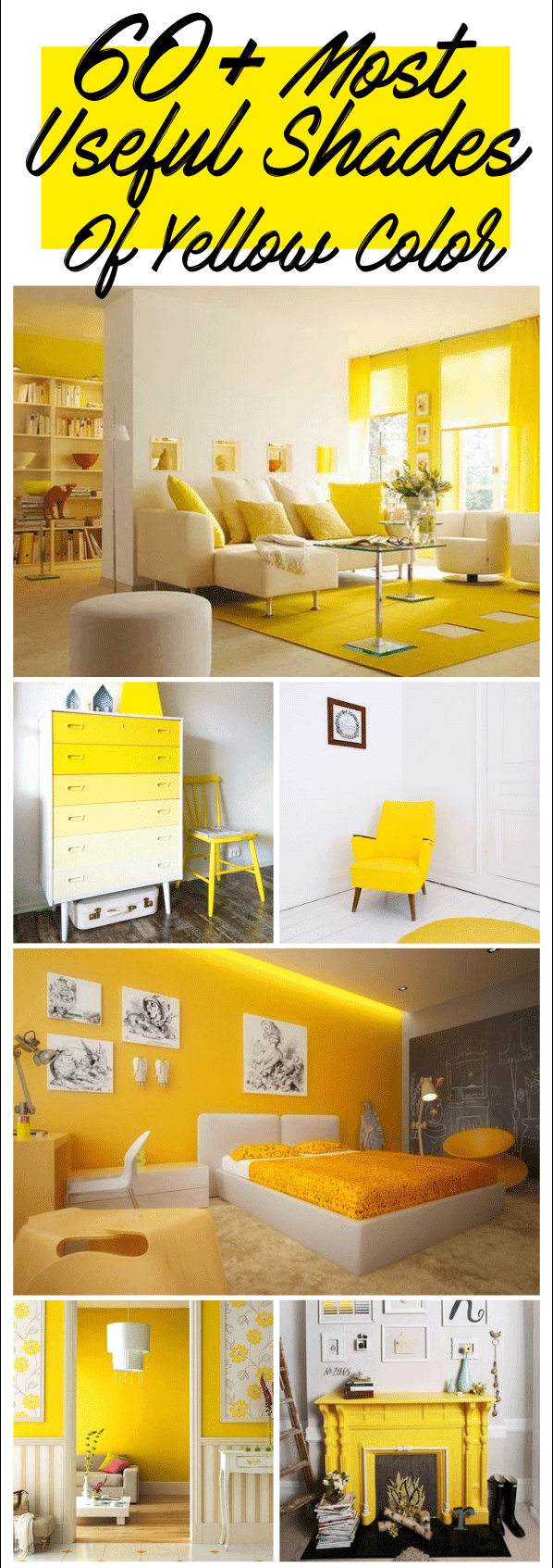 shades of yellow for kitchen