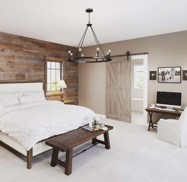 Master Bedroom Farmhouse Interior Design Ideas