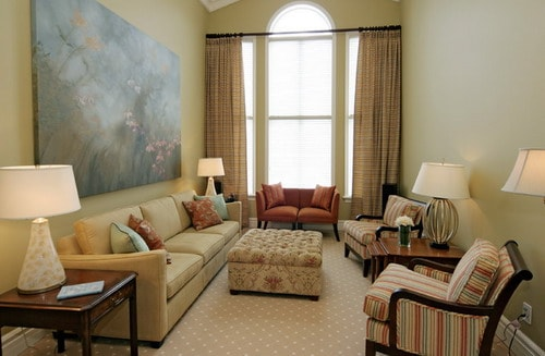 Long Living Room Layout To Make Narrow Space Look Great