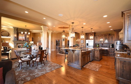 Useful Ideas To Add Coziness To Open Floor Plan