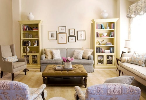 The Best Wall Treatments For French Country Living Room