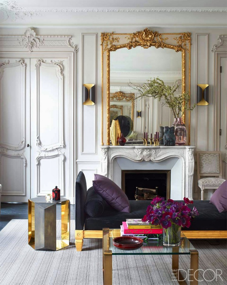 Living Room Decor Ideas: 50 extravagant wall mirrors ... on Decorative Wall Sconces For Living Room Ideas id=40558
