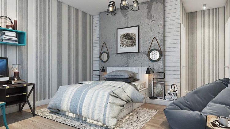 Wall Design For Bedroom