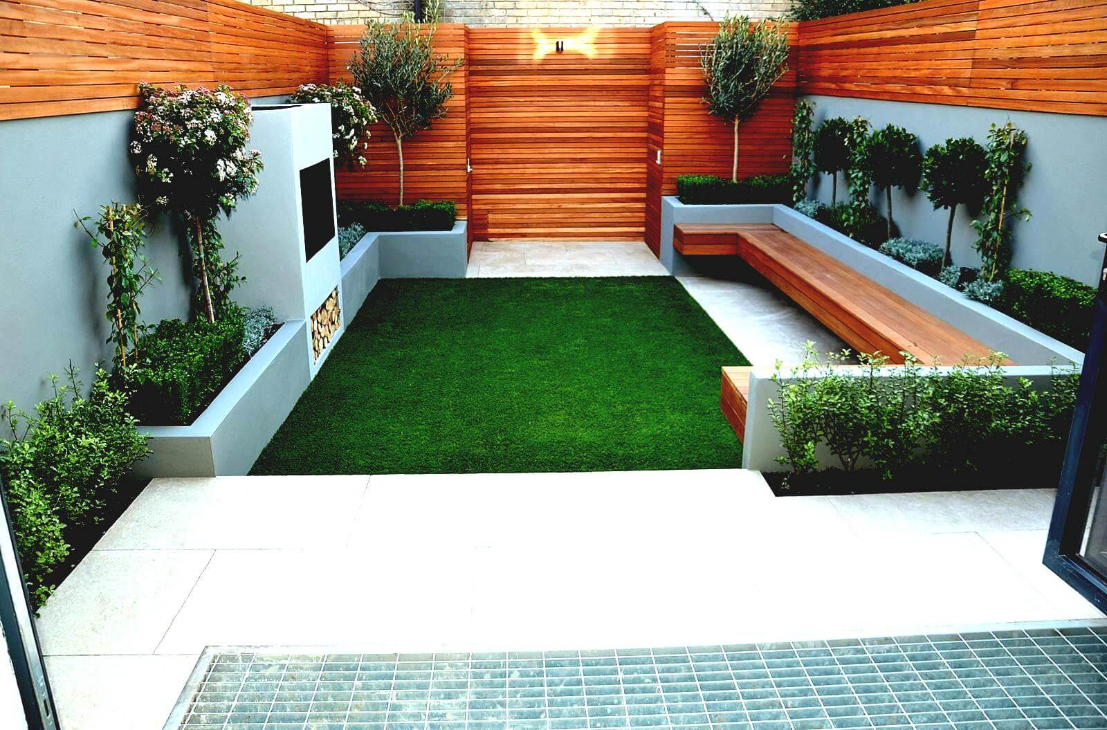 50 Best Front Garden Design Ideas in UK - Home Decor Ideas UK on Landscape Garden Designs For Small Gardens id=11843