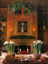 Inspiring Rustic Christmas Fireplace Ideas To Makes Your Home Warmer 65