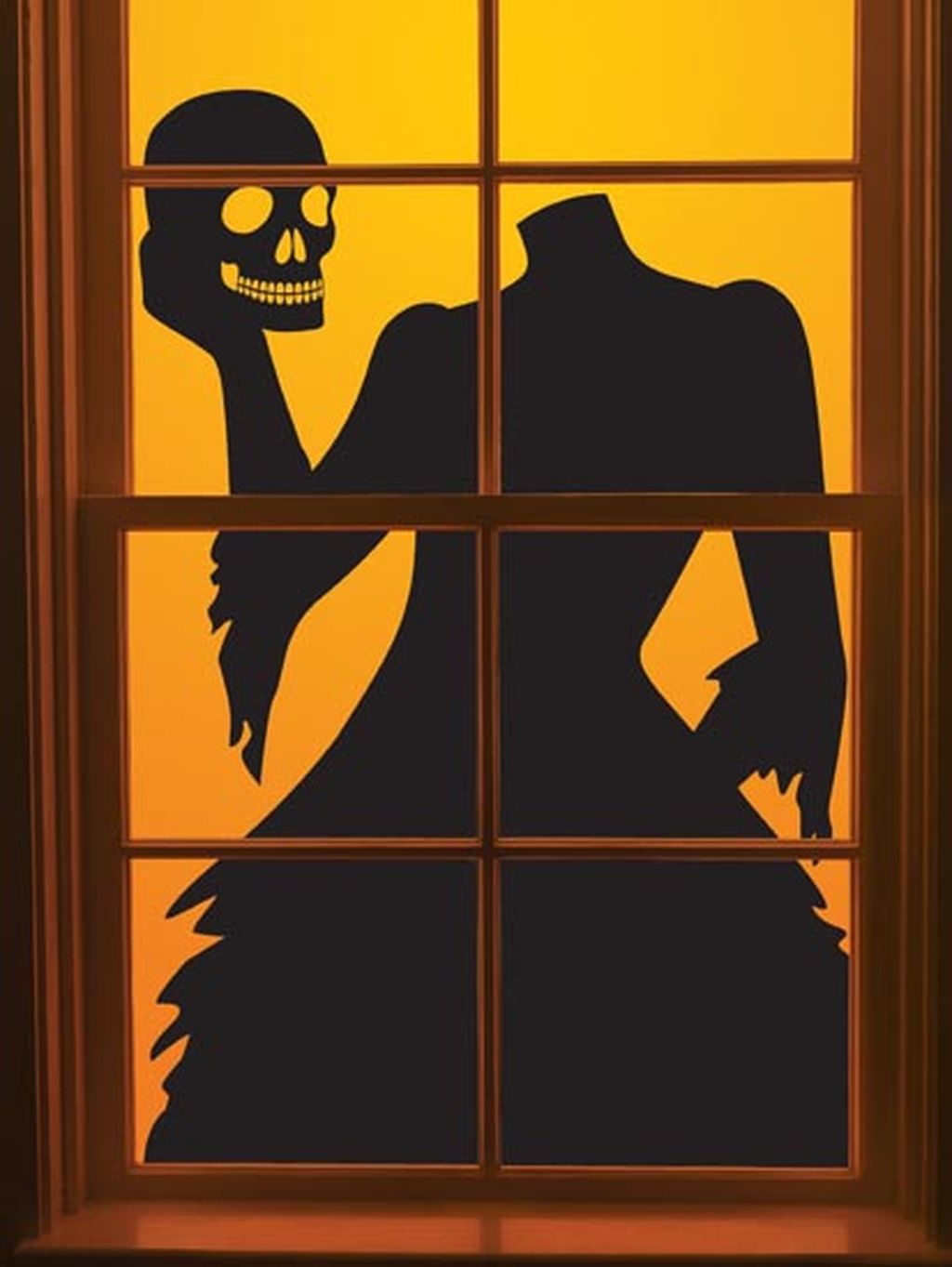 Scary But Creative DIY Halloween Window Decorations Ideas You Should Try 41