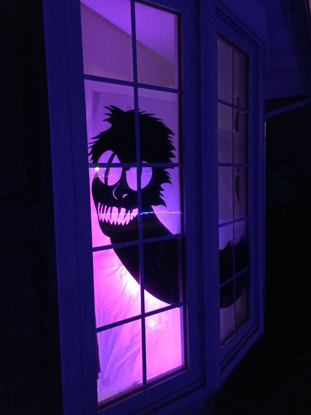 Scary But Creative DIY Halloween Window Decorations Ideas You Should Try 44
