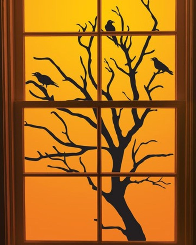 Scary But Creative DIY Halloween Window Decorations Ideas You Should Try 76