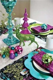 Adorable Pink And Purple Christmas Decoration Ideas 11