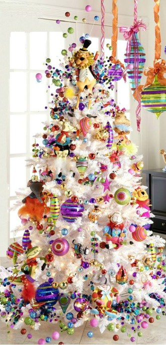 Adorable Pink And Purple Christmas Decoration Ideas 31