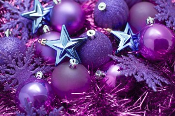 Adorable Pink And Purple Christmas Decoration Ideas 49