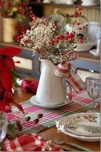 Adorable Rustic Christmas Kitchen Decoration Ideas 18