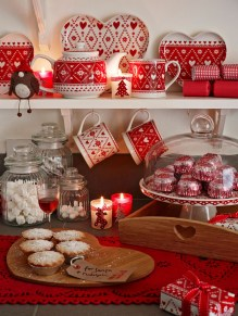 Adorable Rustic Christmas Kitchen Decoration Ideas 40