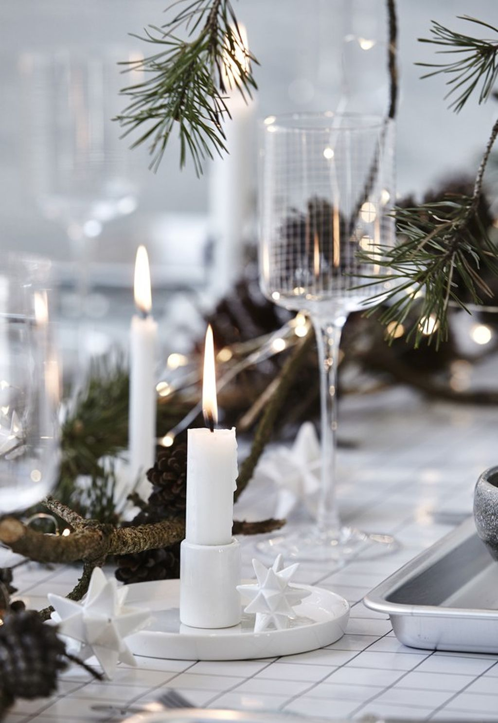 Adorable Rustic Christmas Kitchen Decoration Ideas 71