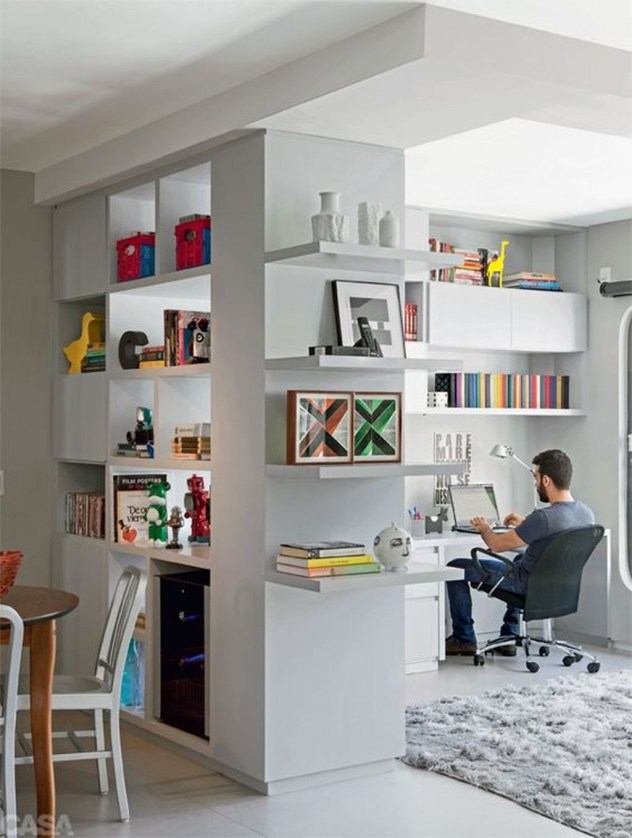 Brilliant Bookshelf Design Ideas For Small Space You Will Love 16