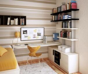 Brilliant Bookshelf Design Ideas For Small Space You Will Love 28