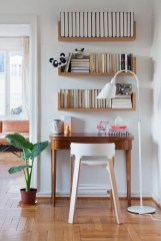 Brilliant Bookshelf Design Ideas For Small Space You Will Love 35