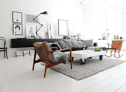 Cozy Scandinavian Interior Design Ideas For Your Apartment 17