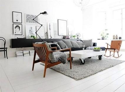 Cozy Scandinavian Interior Design Ideas For Your Apartment 17