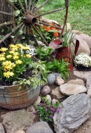 Cozy And Relaxing Country Garden Decoration Ideas You Will Totally Love 09
