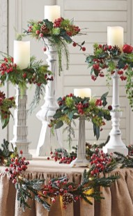 Creative DIY Christmas Candle Holders Ideas To Makes Your Room More Cheerful 59