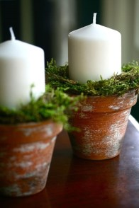 Creative DIY Christmas Candle Holders Ideas To Makes Your Room More Cheerful 69