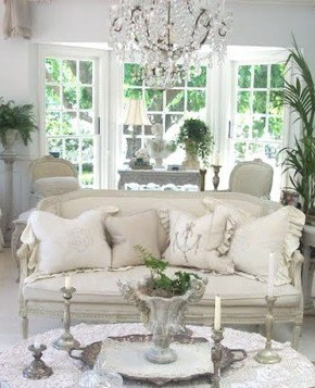 Creative DIY Shabby Chic Decoration Ideas For Your Living Room 18