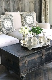 Creative DIY Shabby Chic Decoration Ideas For Your Living Room 19