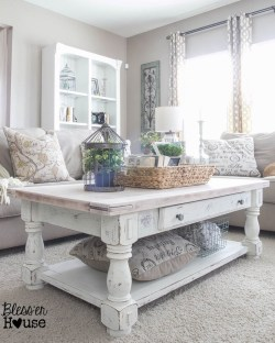 Creative DIY Shabby Chic Decoration Ideas For Your Living Room 20