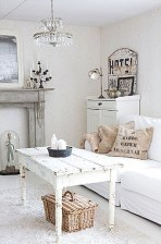 Creative DIY Shabby Chic Decoration Ideas For Your Living Room 21