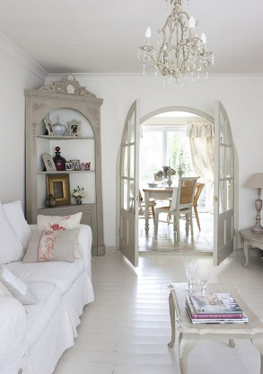 Creative DIY Shabby Chic Decoration Ideas For Your Living Room 64